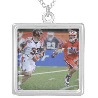 HAMILTON, CANADA - JUNE 18:  Bill McGlone #33 Silver Plated Necklace