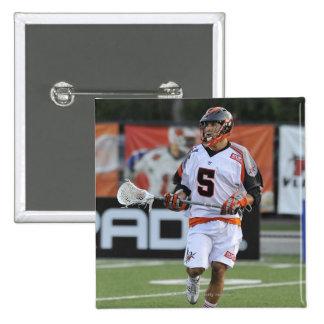 HAMILTON, CANADA - JUNE 18:  Casey Cittadino #5 15 Cm Square Badge