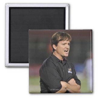 HAMILTON, CANADA - JUNE 18:  Head Coach Tom Square Magnet
