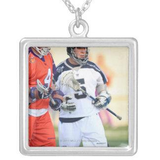HAMILTON, CANADA - MAY 19:  Alex Smith #5 2 Silver Plated Necklace