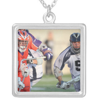 HAMILTON, CANADA - MAY 19:  Alex Smith #5 3 Silver Plated Necklace