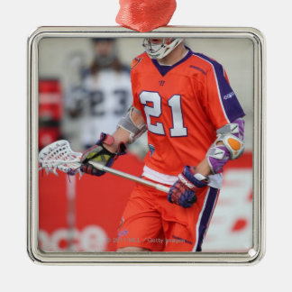 HAMILTON, CANADA - MAY 19:  Kevin Crowley #21 Silver-Colored Square Decoration