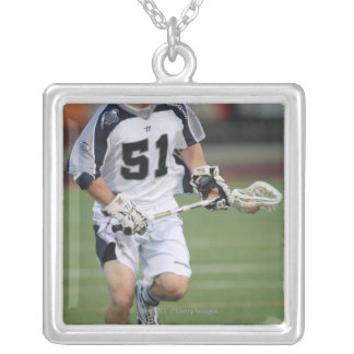 HAMILTON, CANADA - MAY 19:  Michael Kimmel #51 Silver Plated Necklace
