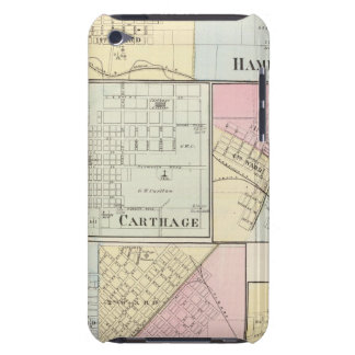 Hamilton, Carthage, Bushnell, Lincoln and LaHarpe Case-Mate iPod Touch Case
