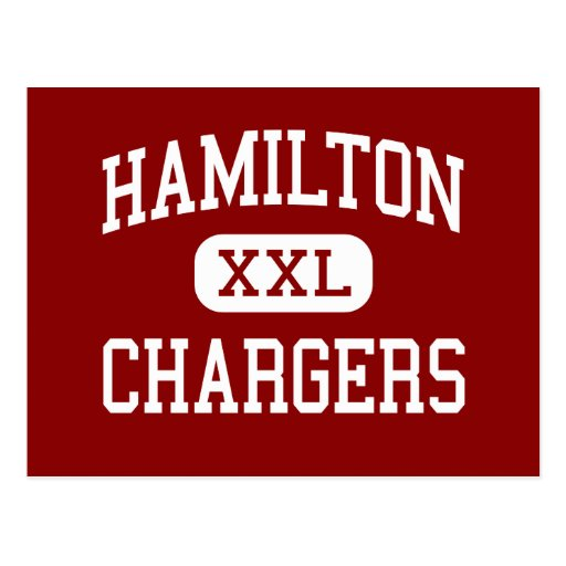 Hamilton - Chargers - High - Sussex Wisconsin Post Cards