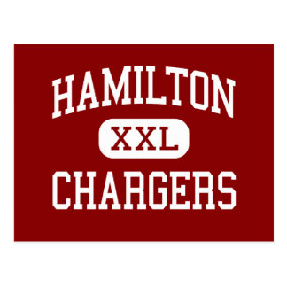 Hamilton - Chargers - Middle - Hamilton Montana Post Cards
