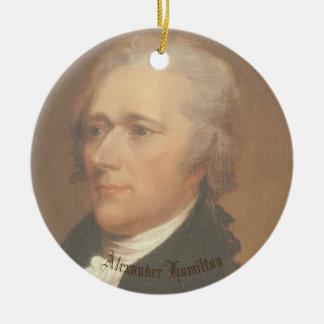 Hamilton Circle Ornamant Christmas Ornament
