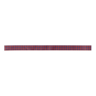 Hamilton Clan Tartan Plaid Ribbon Satin Ribbon