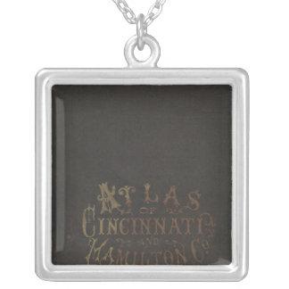 Hamilton County Atlas Silver Plated Necklace