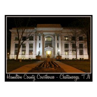 Hamilton County Courthouse - Chattanooga, TN Postcard