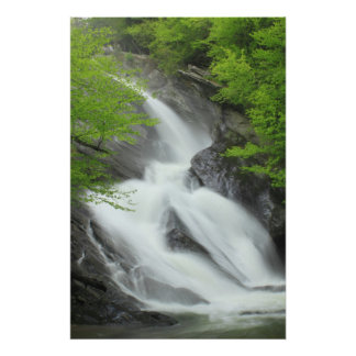 Hamilton Falls Green Mountains Vermont Poster