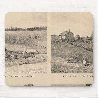Hamilton, Landes, Yates residences, Horseshoe Farm Mouse Mat
