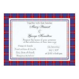 Hamilton Scottish Wedding Invitation