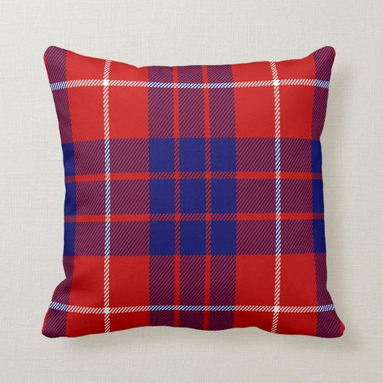 Hamilton tartan cushion/pillow cushion