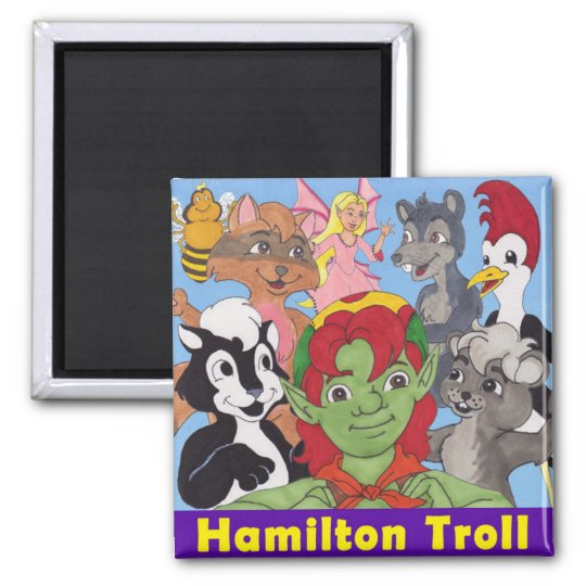 Hamilton Troll & Friends Magnet