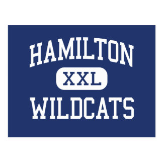 Hamilton Wildcats Middle Memphis Tennessee Postcards