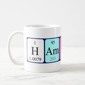 Hamish periodic table name mug