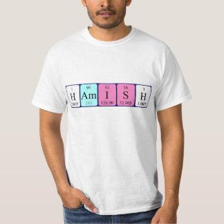 Hamish periodic table name shirt