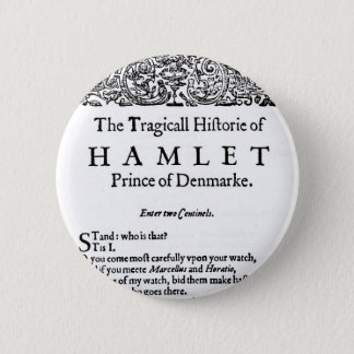 Hamlet 6 Cm Round Badge