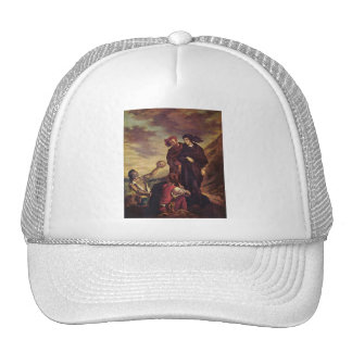 'Hamlet and Horatio in the Cemetary' Trucker Hat