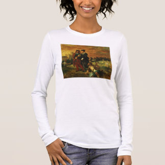 Hamlet and Horatio in the Cemetery, 1859 (oil on c Long Sleeve T-Shirt