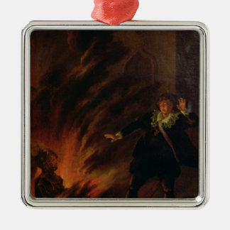 Hamlet and the Ghost of his Father Christmas Ornament
