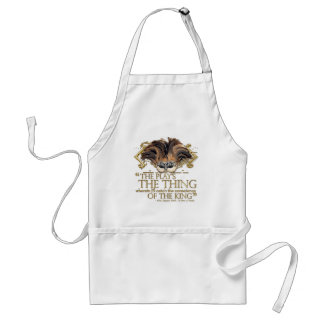 Hamlet Play Quote (Gold Version) Adult Apron
