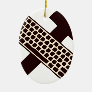 Hammer and keyboard ornaments