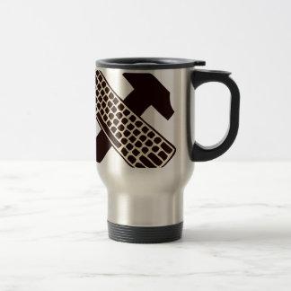 Hammer and keyboard mug