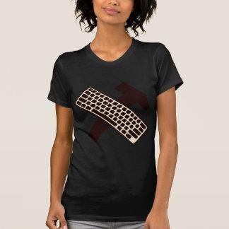 Hammer and keyboard tshirt