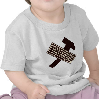 Hammer and keyboard t-shirts