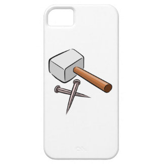 Hammer and Nails iPhone 5 Cover