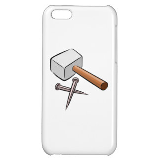 Hammer and Nails iPhone 5C Cases