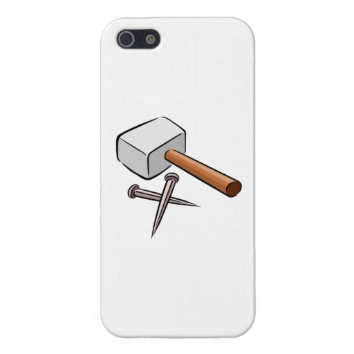 Hammer and Nails iPhone 5 Covers