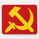 HAMMER AND SICKLE 1 MOUSE MAT