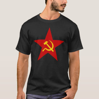 Hammer and Sickle Communist Star T-Shirt