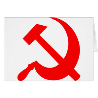 Hammer and Sickle Greeting Card