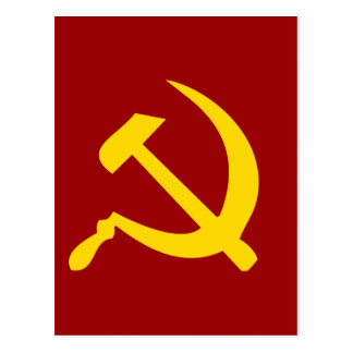 Hammer and Sickle Postcard