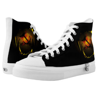 Hammer and Sickle Printed Shoes