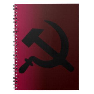 Hammer and Sickle Spiral Notebook