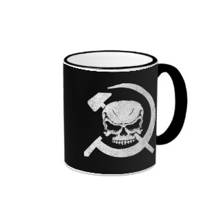 Hammer and Sickle with Skull Mugs