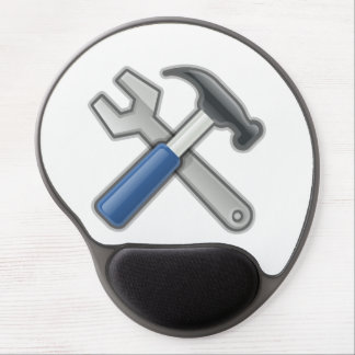 Hammer and Wrench Gel Mouse Mat