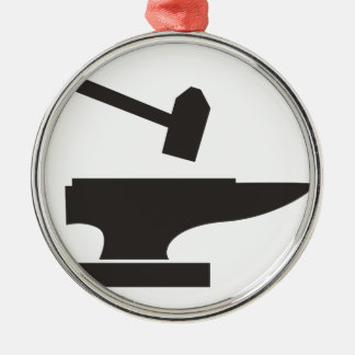 Hammer & Anvil Christmas Ornament