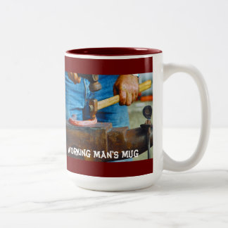 Hammer Anvil Working Man s Mug
