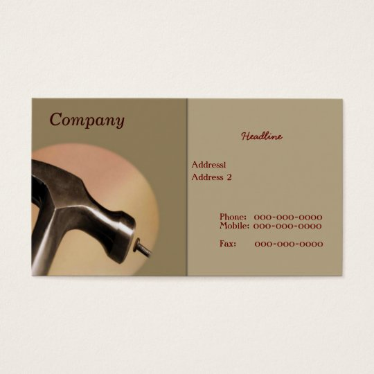 Hammer Business Card
