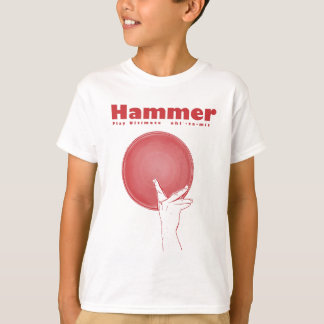 Hammer in RED T-Shirt