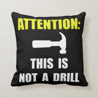Hammer Not Drill Cushion