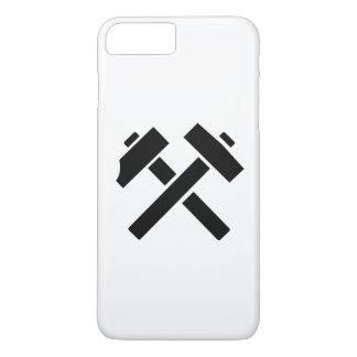 Hammer pick crossed iPhone 7 plus case