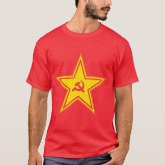 Hammer & sickle in Soviet star T-Shirt