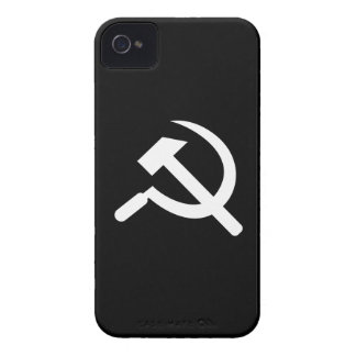 Hammer & Sickle Pictogram iPhone 4 Case